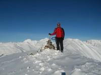 Überwältigt am Äusseren Nockenkopf 2770m