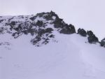 Ich bereits am Gipfel des Alpetta Stockes (2858m) nach kurzer Kletterei)