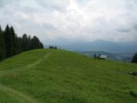 Bereits auf der nördlichen Seite des Alpsees oberhalb der Hohenschmand Alpe.