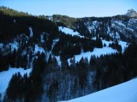Ein Blick hinüber zu den wunderbaren Hängen um die Alpe Bodmenberg, welche ich eben vor zwei Wochen genießen konnte.