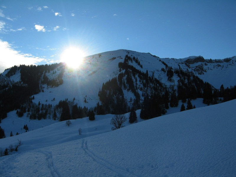 Vor mir der Bullerschkopf, der erste Gipfel für heute…