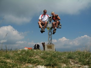 Highlight for album: Corni di Canzo 1373m - Corno Centrale 1365m (I)