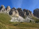 Ganz links die Cir V (2520m) und ganz rechts der Gran Cir (2592m).