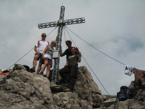 Highlight for album: Dremelspitze 2733m (T) 1490Hm, 17km