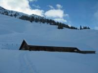 Wunderbare Hänge um die Alpe Mittler Stafel.