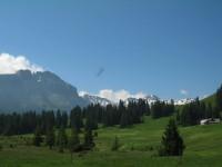 Ein Traumhafter Tag und herrliche Landschaft. Was will man mehr. So und jetzt geht's ab nach Flims zum Pinut-Klettersteig…