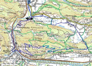 Highlight for album: Reuthe - Hinterreuthe - Mellau - Kau - Rosenburg - Bizau - Reuthe 750Hm, 21km