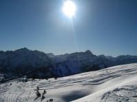 Hier war ich ja schon vor ziemlich genau 3 Jahren mit meinen Münchner Spetzln unterwegs, jedoch bei nicht so gut gesetztem Schnee.