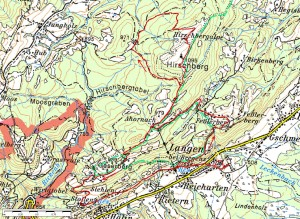 Highlight for album: Hirschberg 1095m - 600Hm, 14km