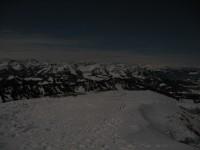 Wunderbarer Blick zur Winterstaude wo ich ja gestern die Wintersonnwend gefeiert habe ;-)