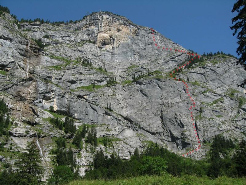 Klettersteig Fürenwand : Bernis bergzauber im internetz hundschuft m über fürenwand