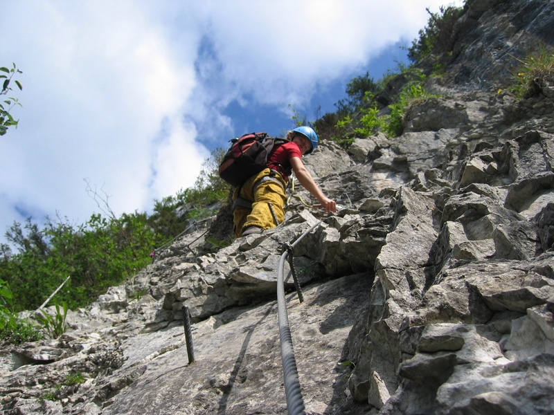 Via Kessi Klettersteig : Slideshow for album kapf m über via klettersteig und