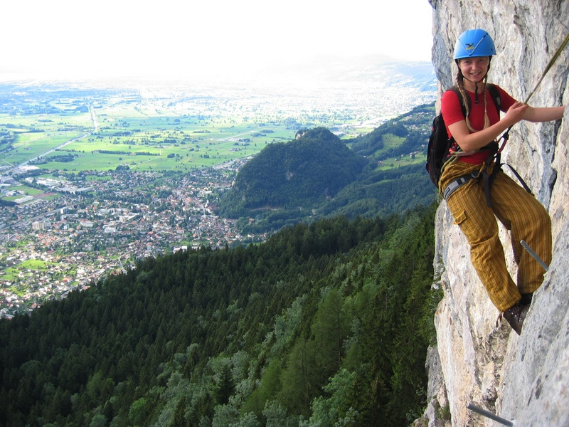 Klettersteig Via Kapf : Bernis bergzauber im internetz kapf m über via