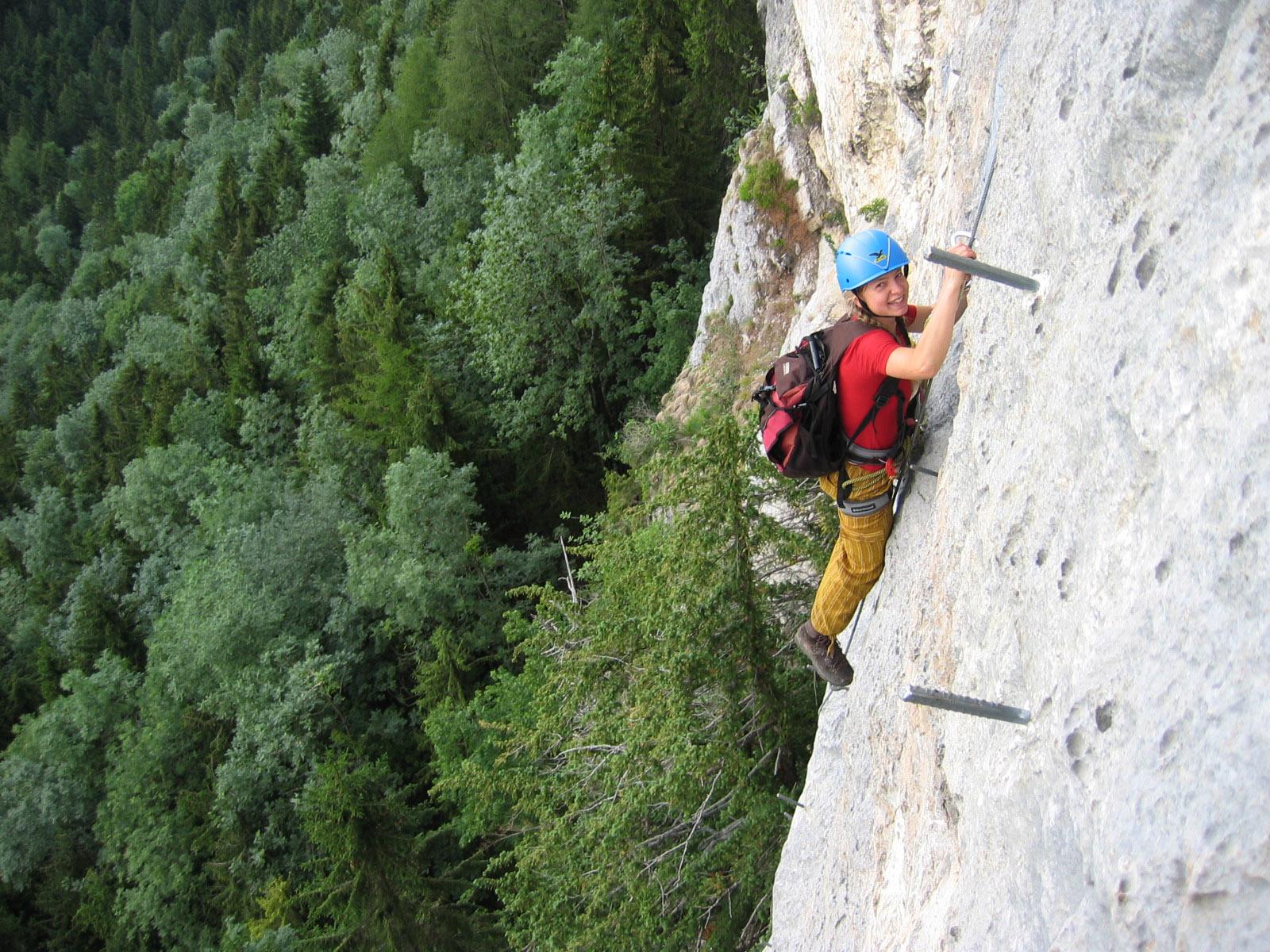 Via Kessi Klettersteig : Bernis bergzauber im internetz kapf m über via