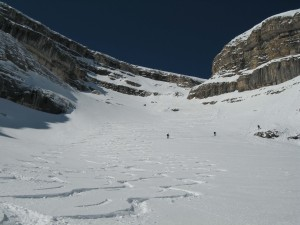 Highlight for album: Lavarela 3055m (I) - Abbruch auf ca. 2700m