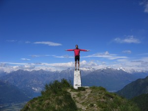 Highlight for album: Dervio 204m - Monte Legnoncino 1711m - Dervio (I)