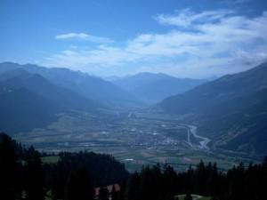 Highlight for album: Malans-Jenins-Maienfelder Alpen-Cani-Golrosa-Schuders-Schiers-Malans, 2420HM, 65km