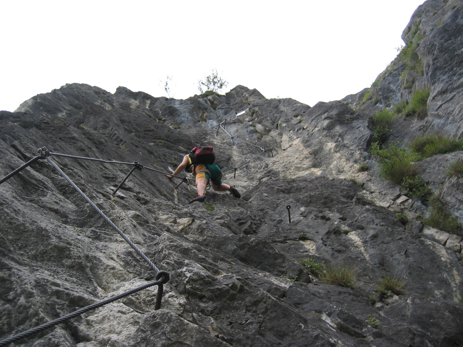 Kaiser Max Klettersteig : Kaiser max klettersteig via ferrata zirl mapio