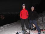Volker und ich am Wendepunkt unserer ersten gemeinsamen Vollmondtour