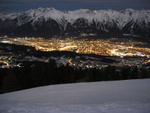 Blick auf Innsbruck! Einfach genial.