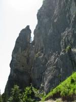 """Nach einem 30 minütigem Zustieg erreicht man den Einstieg in den Pinut-Klettersteig, besser """"Leiternsteig""""."""