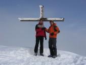 Volker und Ich auf der Rautispitz 2283m.