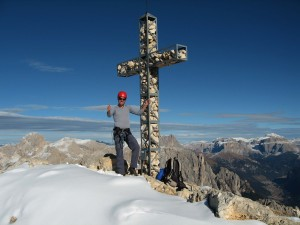 Highlight for album: Rotwand 2806m - Via ferrata Masare u. Rotwandklettersteig (I)