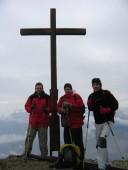 Robert, Andreas und Volker auf der Schellschlicht 2053m