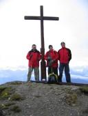 Robert, Andreas und Ich auf der Schellschlicht 2053m