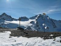 Von der Sesvenna Furka hat man einen traumhaften Blick zum Piz Sesvenna und den wunderbaren Gletscher am Nordostfuße!