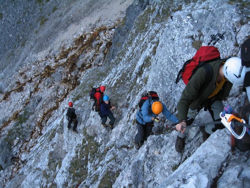 Klettersteig Ehrwald : Bernis bergzauber im internetz ehrwalder sonnenspitze m t