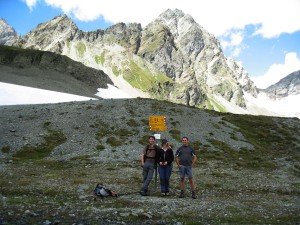 Highlight for album: Lavin - Vereinapass 2585m - Flesspass 2457m - Susch - Lavin (CH) 1400Hm, 24km