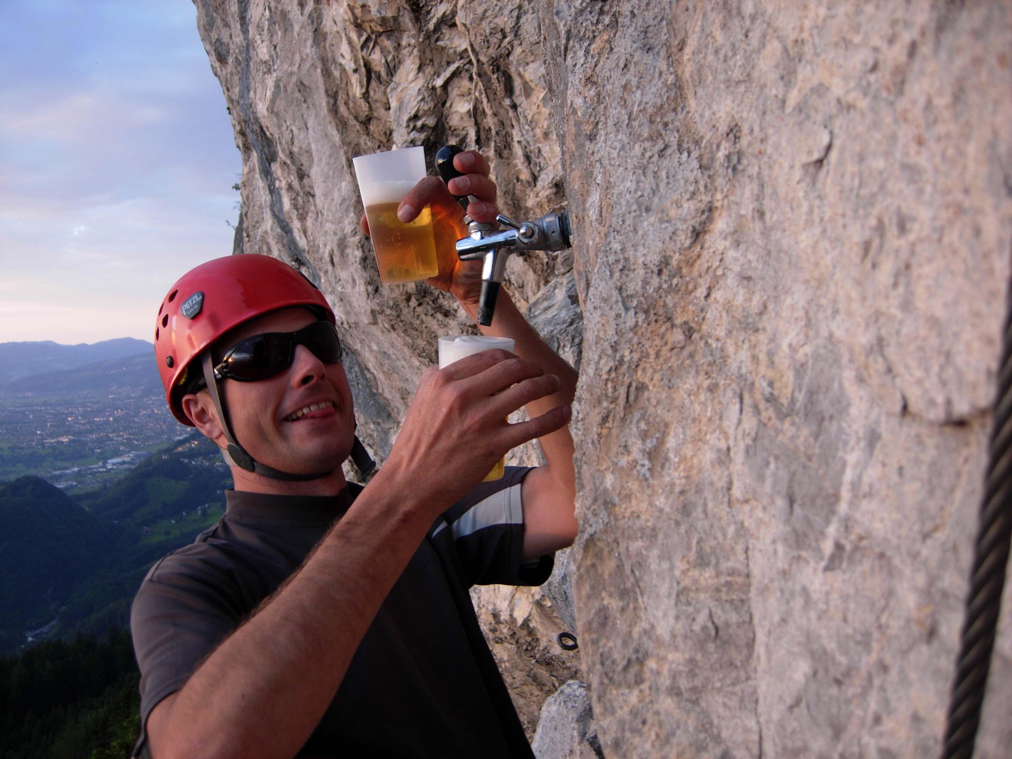 Klettersteig Via Kapf : Bernis bergzauber im internetz :: kapf 1153m über via unf