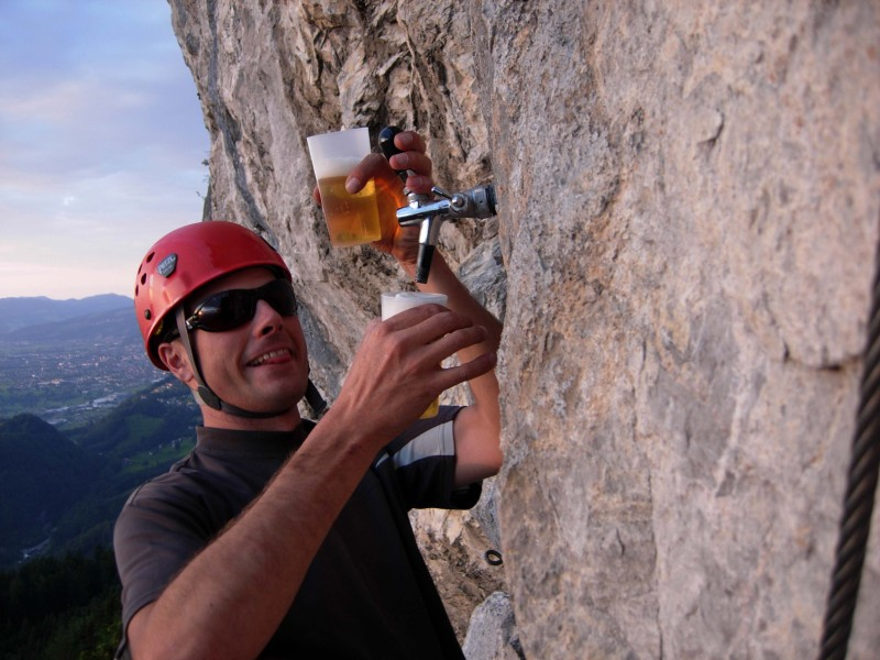 Via Kapf Klettersteig : Bernis bergzauber im internetz :: kapf 1153m über via unf