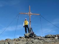 Nach genau 3 Stunden Aufstieg steh ich nun hier am Windegg 2577m.
